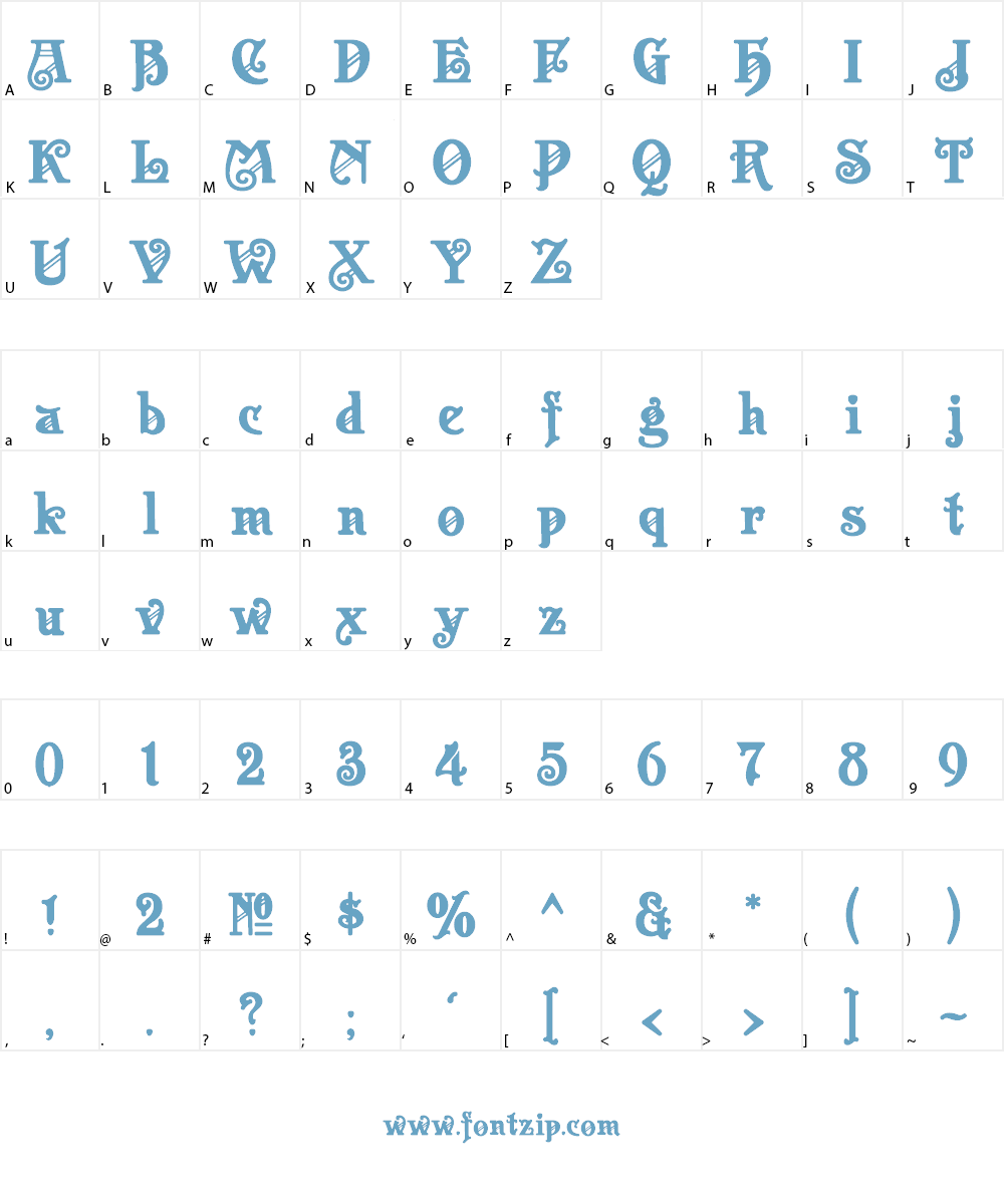 Apollo ASM Font Character