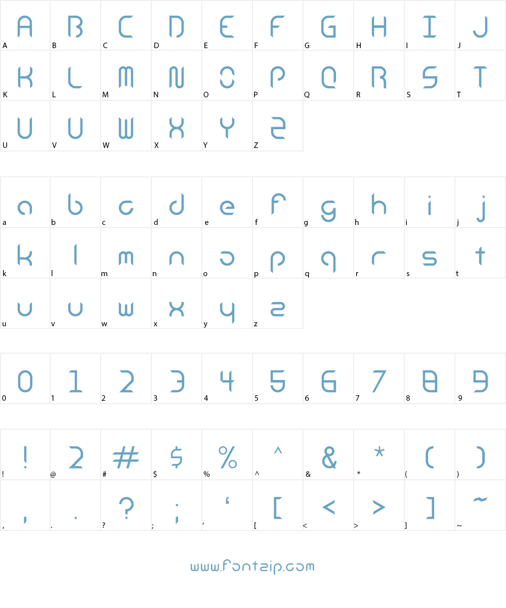 Android Insomnia_ Font Character