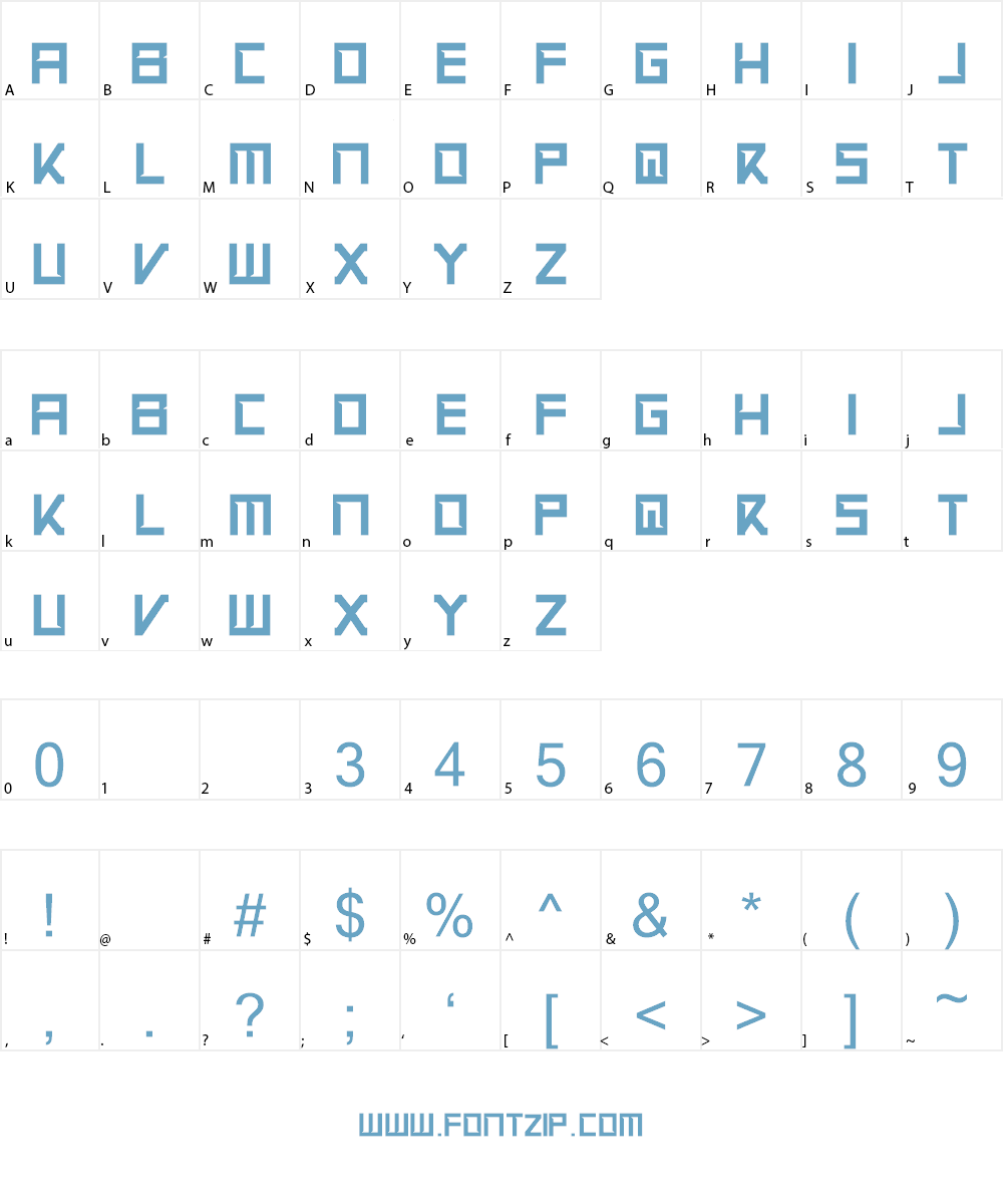 Apex Flunkee Font Character