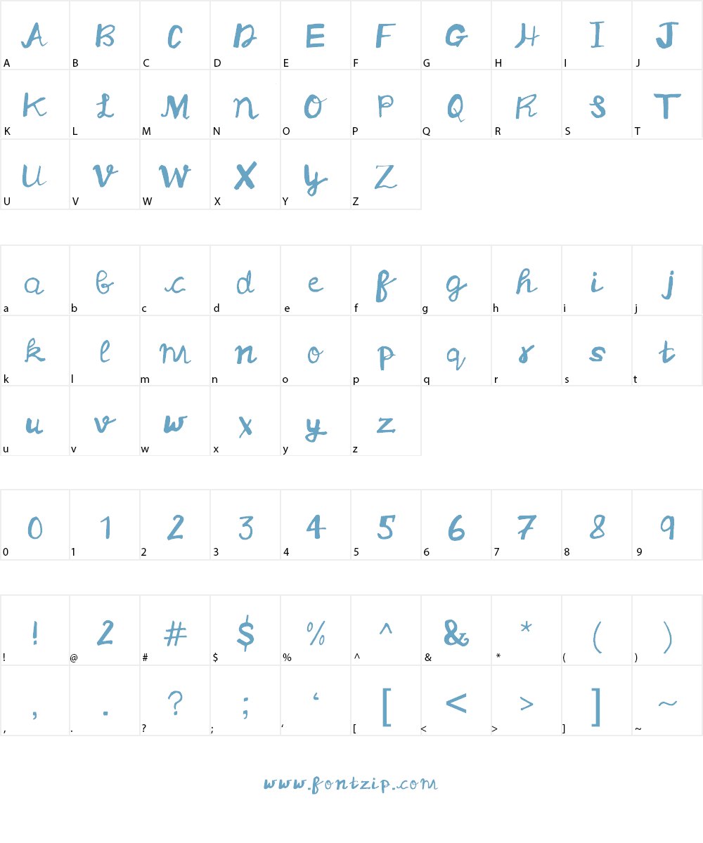 ArtTypo_Symufa Font Character